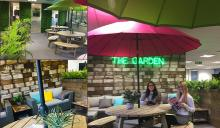 Umbrella Brings the Outside In With New Break Area