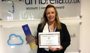 Allison Gallagher Umbrella.co.uk July Employee of the Month