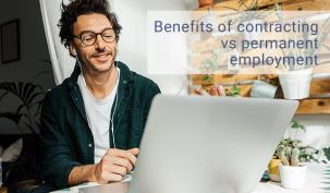 Benefits of contracting vs permanent employment