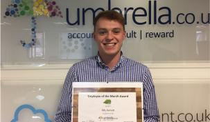 Billy Barnett Wins Umbrella.co.uk February Employee of the Month