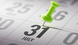 Don't Forget Your July 31 Payment on Account