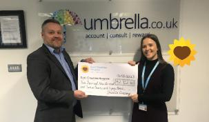Umbrella.co.uk supporting East Cheshire Hospice