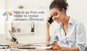 How to go from sole trader to limited company contractor