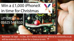 Win a £1,000 iPhone X in time for Christmas*