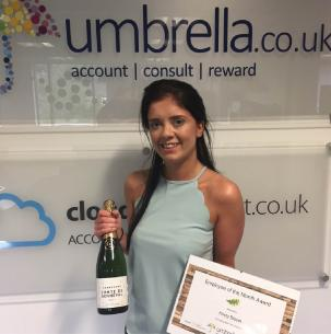 Congratulations to Kirsty Bisset who is our August Employee of the Month