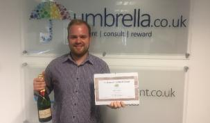Congratulations to Nick Martin - August Umbrlela Employee of the Month