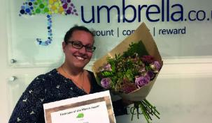 Congratulations to Rebeca Rivas - September employee of the month