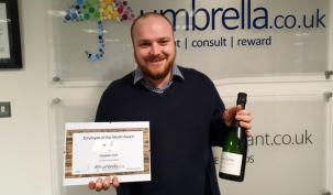 Stephen Holt Wins Umbrella.co.uk December Employee of the Month