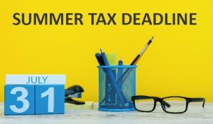 July 31st Summer tax deadline looms for self-employed
