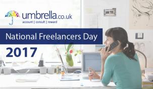 Umbrella.co.uk celebrating national freelancers day 2017