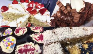 Umbrella Grenfell tower cake sale