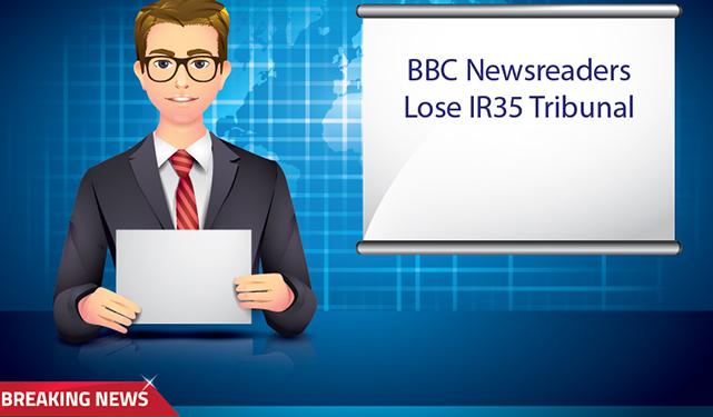 BBC Newsreaders Lose IR35 Tribunal