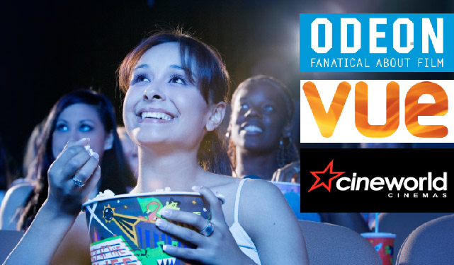 NEW with Umbrella and CIS Max - Save up to 38% on Cinema Tickets!