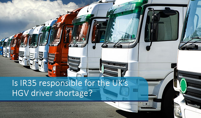 Is IR35 responsible for the UK's HGV driver shortage?
