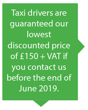 Taxi Drivers Self Assessment Service