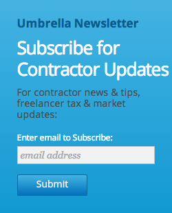 Contractor Newsletter Signup