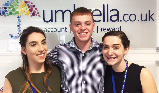 Umbrella.co.uk customer services team image
