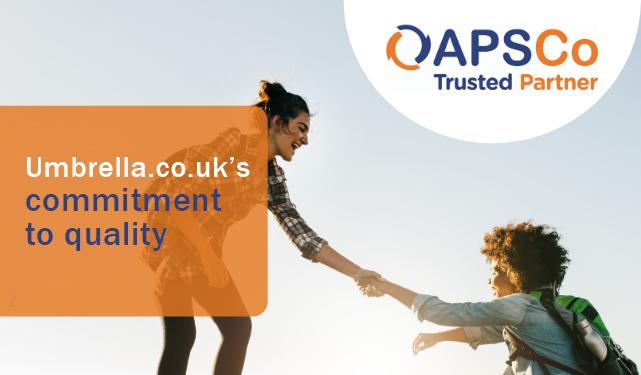 Umbrella.co.uk has become an APSCo Trusted Partner